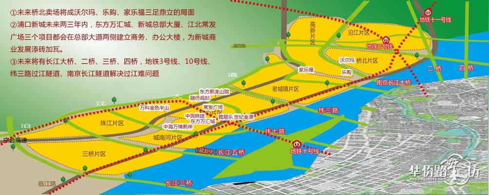 南京过江通道规划立体图