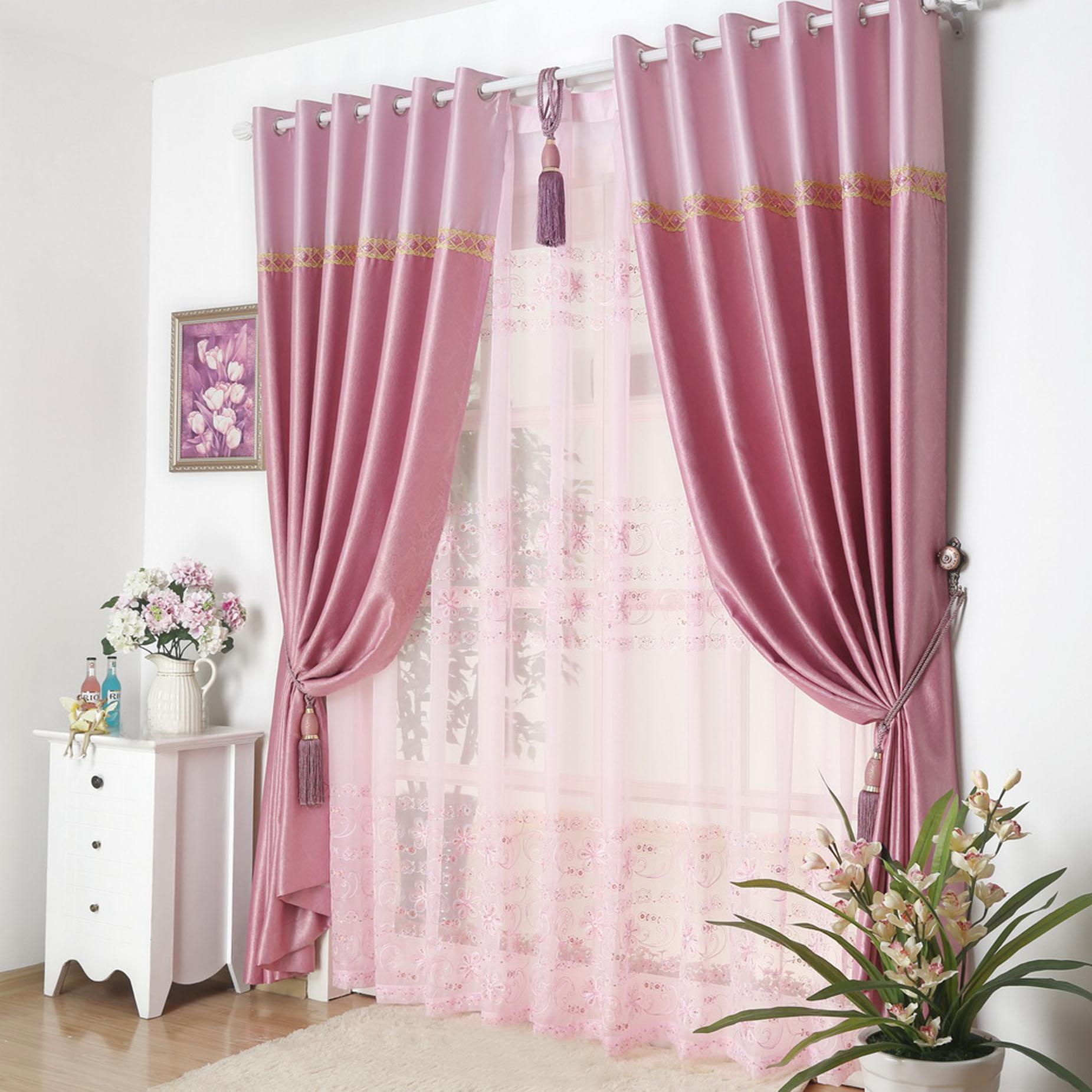 集美窗帘墙纸之客厅卧室窗帘-产品价格|报价|图片