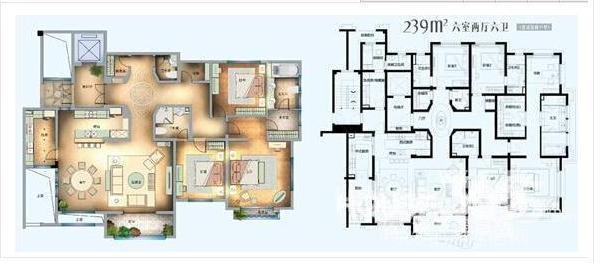 十万以下一层别墅平面设计图