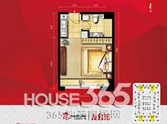 宝龙龙公馆36�O户型图