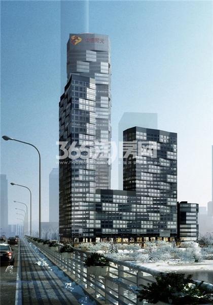 中惠熙元广场效果图