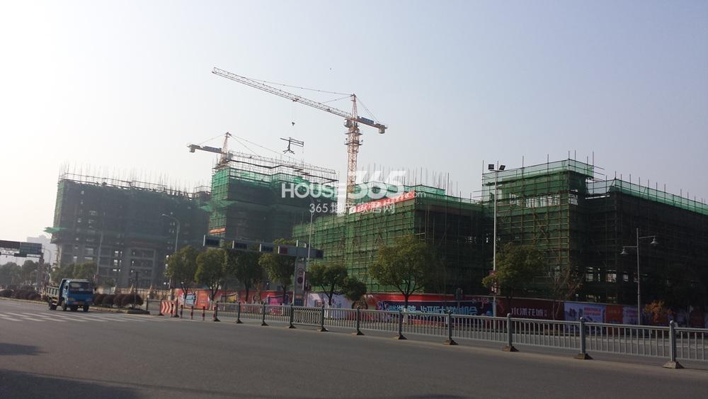 水漾花城实景图2015.1.1