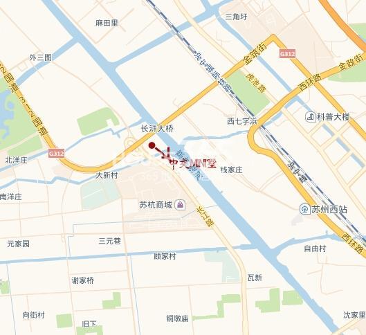 中交MINI墅交通图