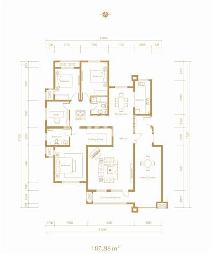 紫林湾洋房9#楼户型图