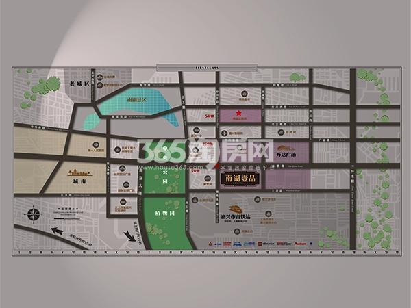 承安·南湖壹品交通图