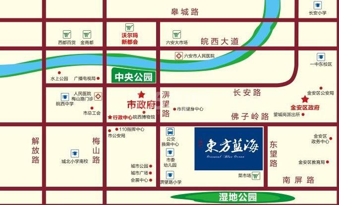 淮矿东方蓝海交通图