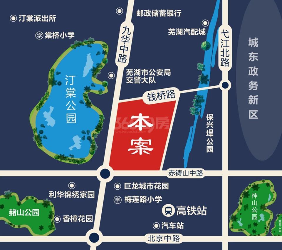 东方蓝海交通图