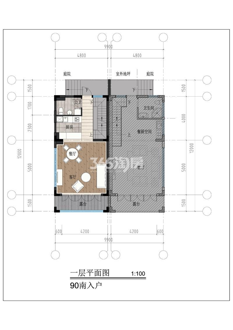 青岛红墅台户型图