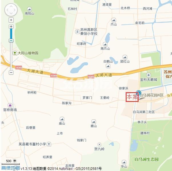 华宇林泉雅舍交通图