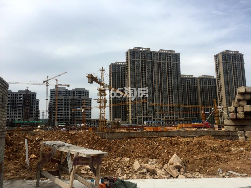 银亿东城11街区楼栋实景图(5.20)
