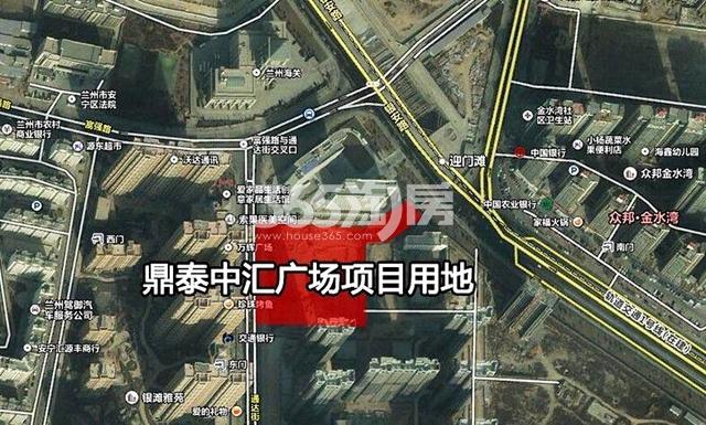 鼎泰中汇广场交通图