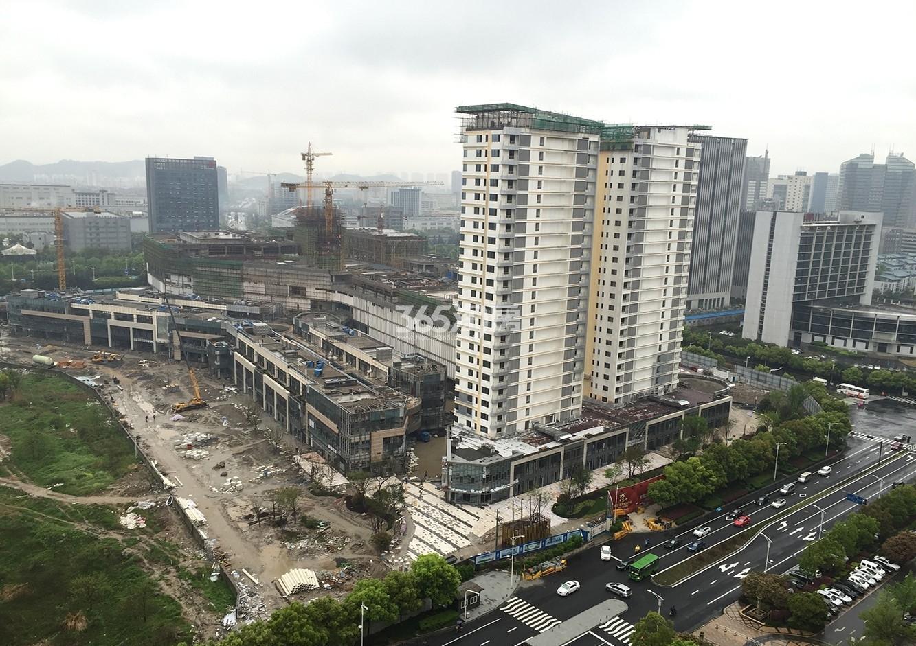 滨江宝龙城市广场实景图