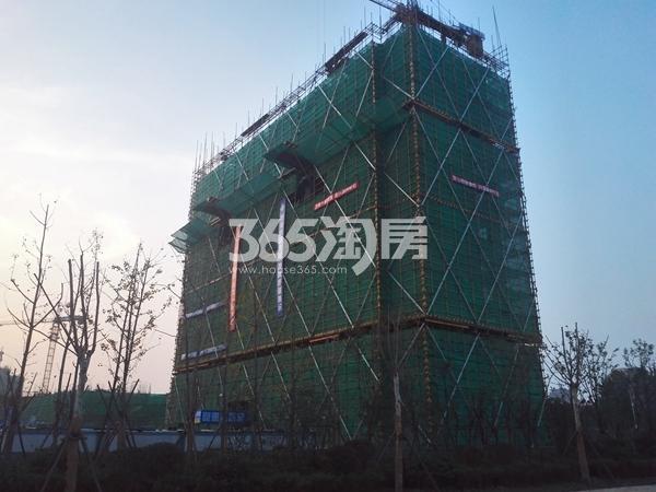 绿地工润和平壹号三期实景图2(11.10)