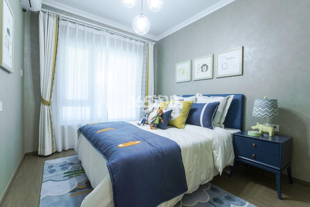 合景映月台115方样板房——卧室