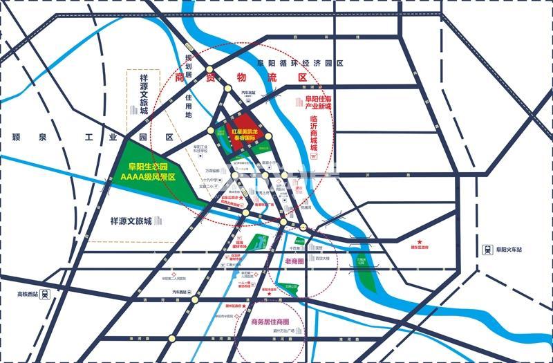 泰睿国际建材家居生活广场交通图