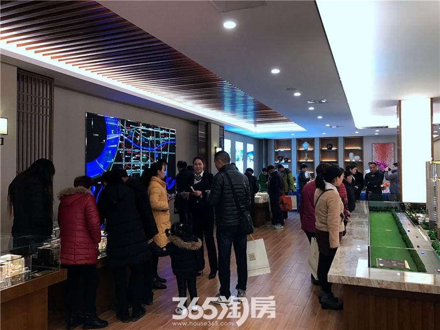 高速御府营销中心(2017.3摄)