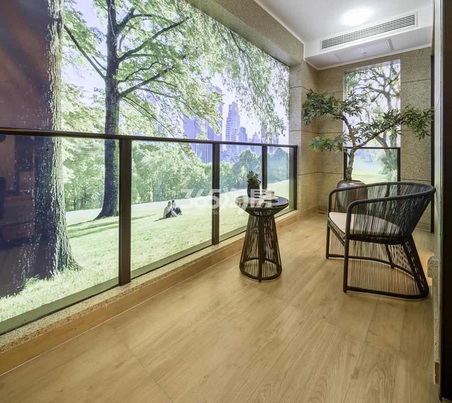 新城香悦公馆A3户型125方样板房——阳台