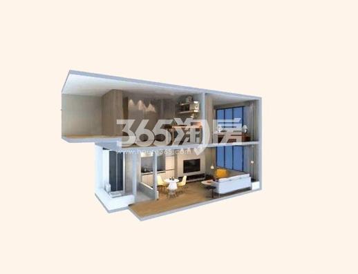 电建地产海赋尚城36㎡公寓户型图