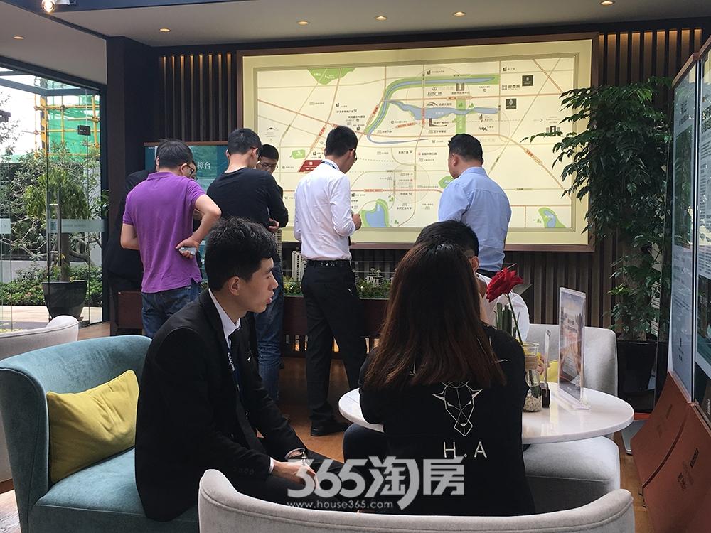 融创玖樟台客户洽谈实景图(2017.5.12)