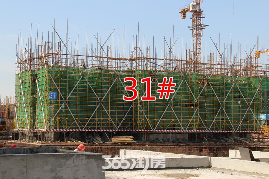翰林公馆工程进度(2017.5摄)