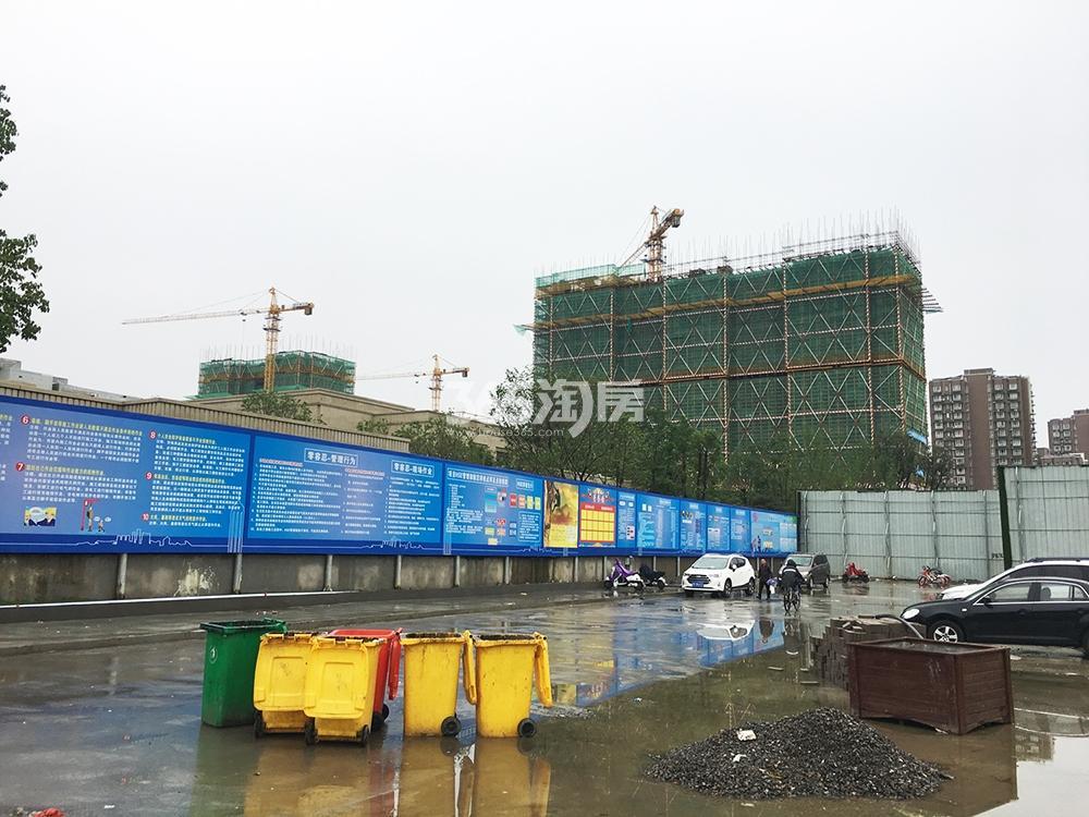 2017.6.25首开杭州金茂府远拍施工现场