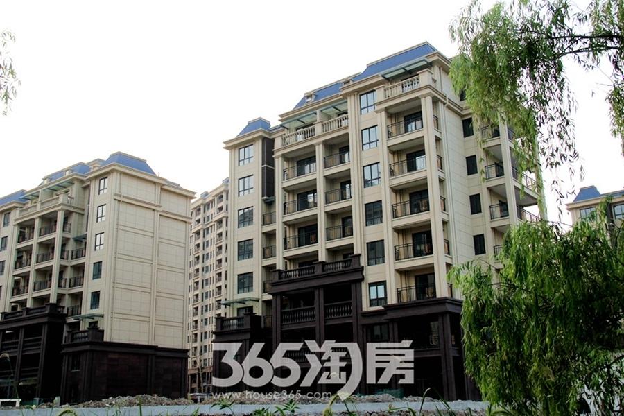 东方蓝海外立面实景(2017.7摄)