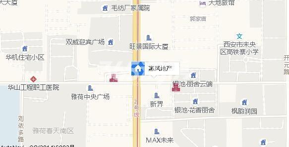 惠风壹品交通图