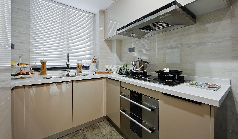 招商远洋春秋华庭112方(B户型)样板房---厨房