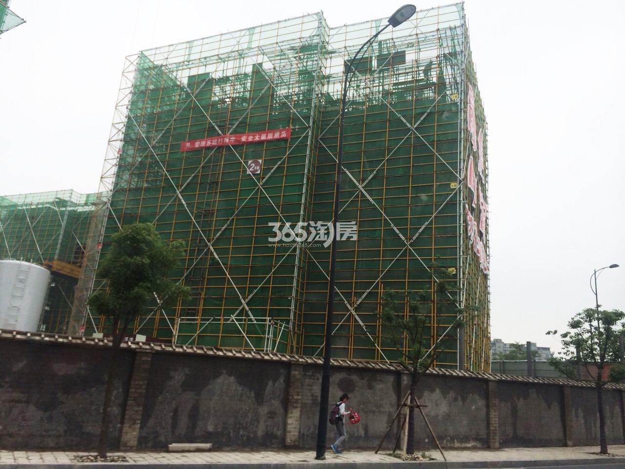 2017年8月融信公馆ARC项目2号楼实景