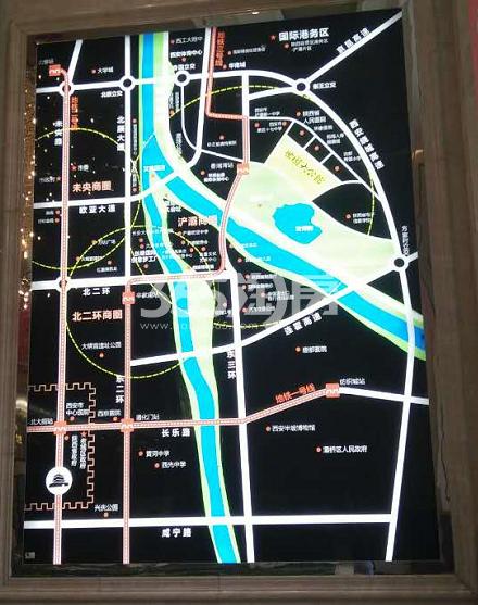 世园大公馆区位图