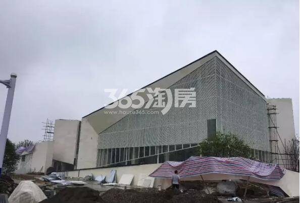 少荃府在建售楼部外远眺实景(2017.9.7)