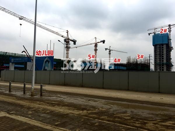 启迪协信无锡科技城A地块2-5#楼工程实景(2017.9摄)