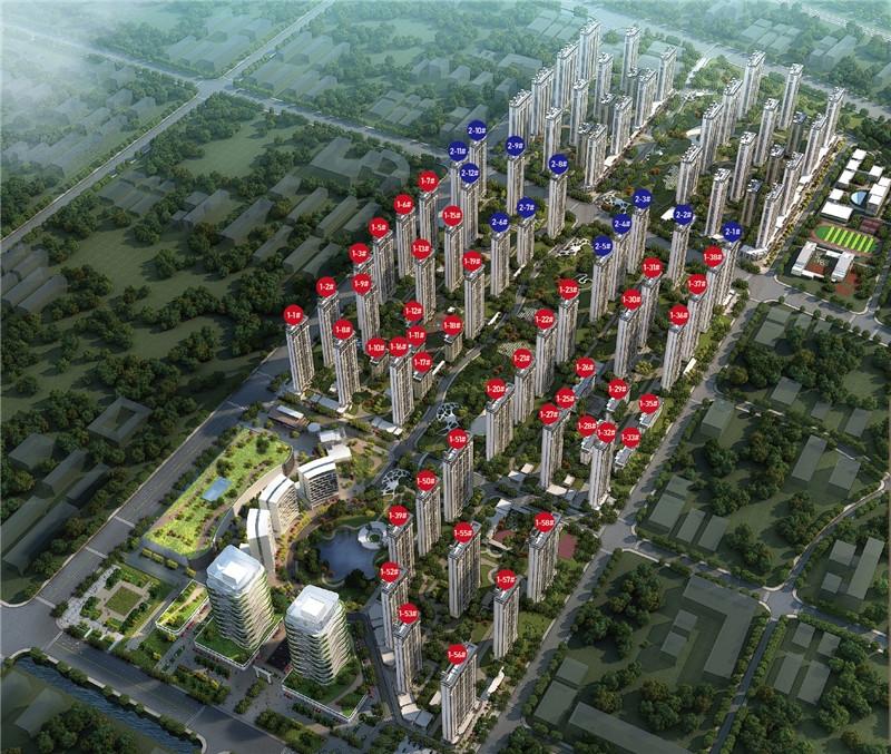 千禧城鸟瞰图
