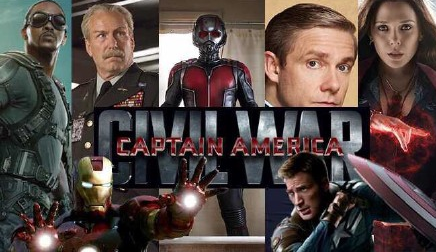 《美国队长3:内战》阵容来袭