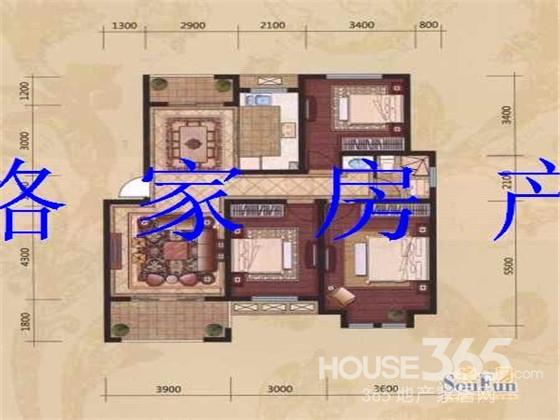 65平米房子平面设计图
