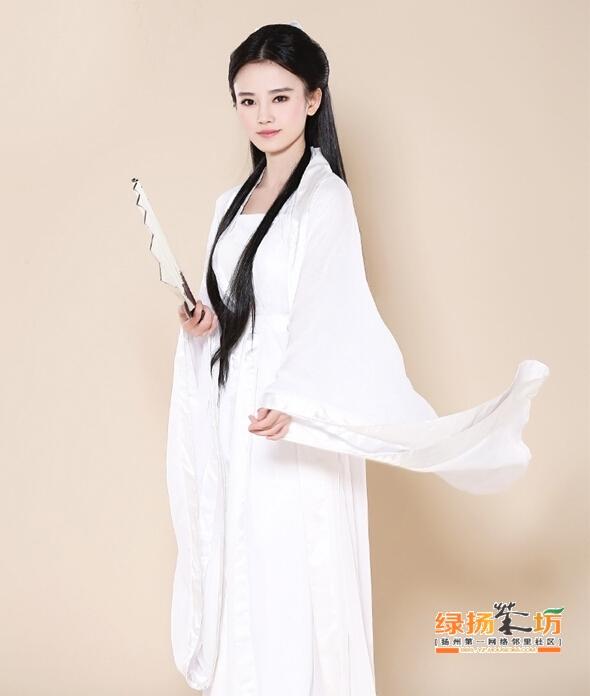四千年第一美女扮小龙女叫版陈妍希 过儿你该